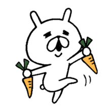 Chococo's Yuru Usagi 4(Relax Rabbit) sticker #6963277