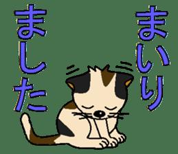 I LOVE CUTE CAT sticker #6964755