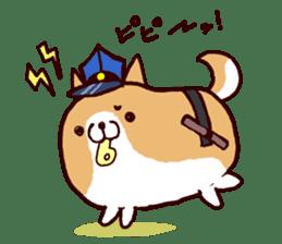 lazy shiba vol.4 sticker #6964840
