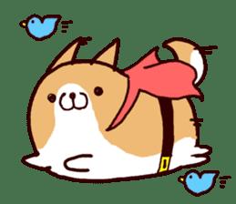 lazy shiba vol.4 sticker #6964842