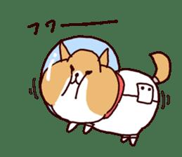 lazy shiba vol.4 sticker #6964844