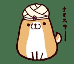 lazy shiba vol.4 sticker #6964847