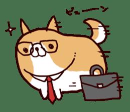 lazy shiba vol.4 sticker #6964850