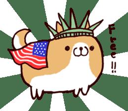 lazy shiba vol.4 sticker #6964854