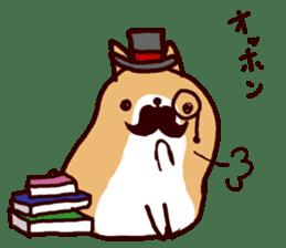 lazy shiba vol.4 sticker #6964862