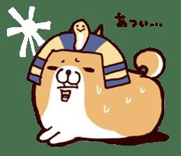 lazy shiba vol.4 sticker #6964870