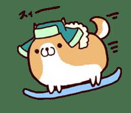 lazy shiba vol.4 sticker #6964872