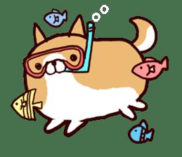 lazy shiba vol.4 sticker #6964873