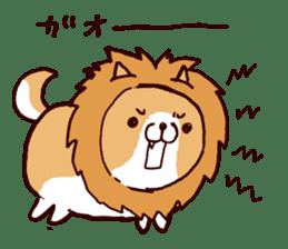 lazy shiba vol.4 sticker #6964874