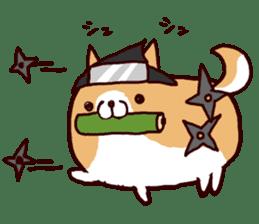 lazy shiba vol.4 sticker #6964878