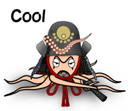 Cool octopuses in Parutom-town sticker #6965887