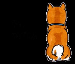 Life of the Shiba(English ver.) sticker #6966364