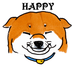 Life of the Shiba(English ver.) sticker #6966371