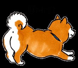 Life of the Shiba(English ver.) sticker #6966379