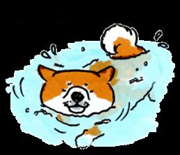 Life of the Shiba(English ver.) sticker #6966380