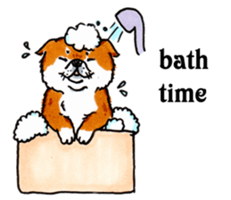 Life of the Shiba(English ver.) sticker #6966384
