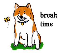 Life of the Shiba(English ver.) sticker #6966386
