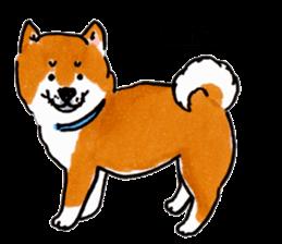 Life of the Shiba(English ver.) sticker #6966387