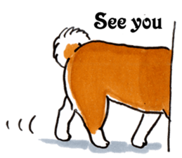 Life of the Shiba(English ver.) sticker #6966391