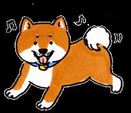 Life of the Shiba(English ver.) sticker #6966393