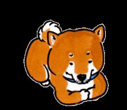 Life of the Shiba(English ver.) sticker #6966394
