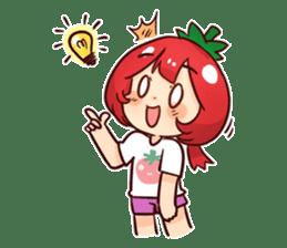 Jujiir Tomato Head sticker #6966419