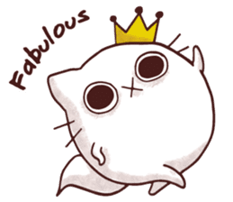 Fab Cat sticker #6967643