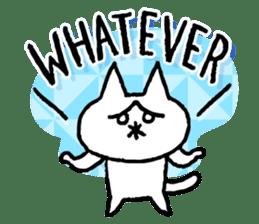 NIKU-Q English sticker #6968013