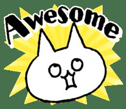 NIKU-Q English sticker #6968017