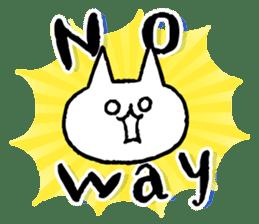 NIKU-Q English sticker #6968032