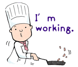 Cute chef sticker #6968562