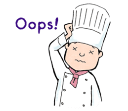 Cute chef sticker #6968563