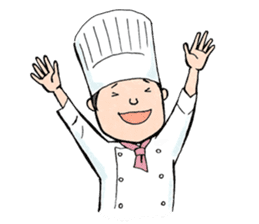 Cute chef sticker #6968565