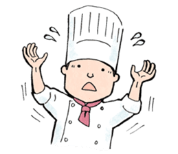 Cute chef sticker #6968571