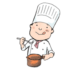 Cute chef sticker #6968583