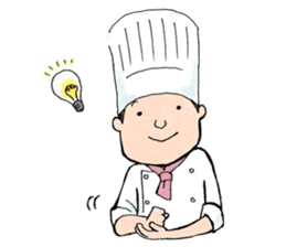 Cute chef sticker #6968585