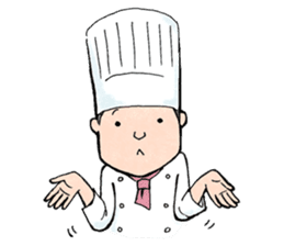 Cute chef sticker #6968586