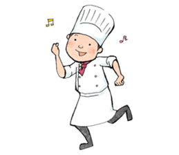 Cute chef sticker #6968587