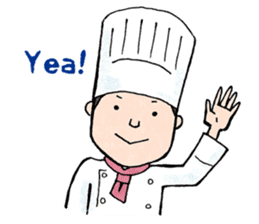 Cute chef sticker #6968589