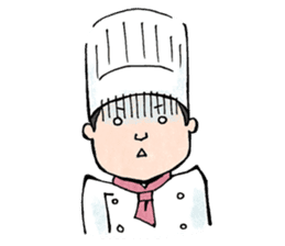 Cute chef sticker #6968595