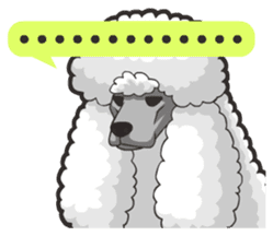 Hi! Poodles sticker #6968604