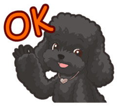 Hi! Poodles sticker #6968605