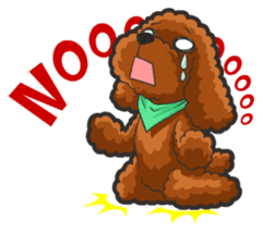 Hi! Poodles sticker #6968606