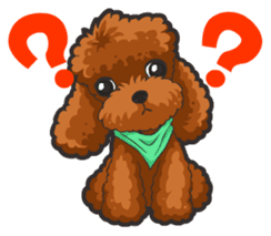 Hi! Poodles sticker #6968608
