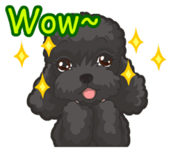 Hi! Poodles sticker #6968609