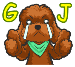 Hi! Poodles sticker #6968610