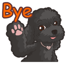 Hi! Poodles sticker #6968611