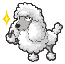 Hi! Poodles sticker #6968613