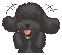Hi! Poodles sticker #6968614