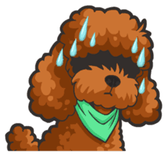 Hi! Poodles sticker #6968618